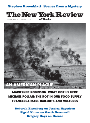 Image of the June 11, 2020 issue cover.