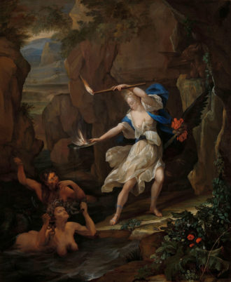 Eglon van der Neer: Circe Punishes Glaucus by Turning Scylla into a Monster, 1695