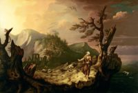 Thomas Jones: The Bard, 1774