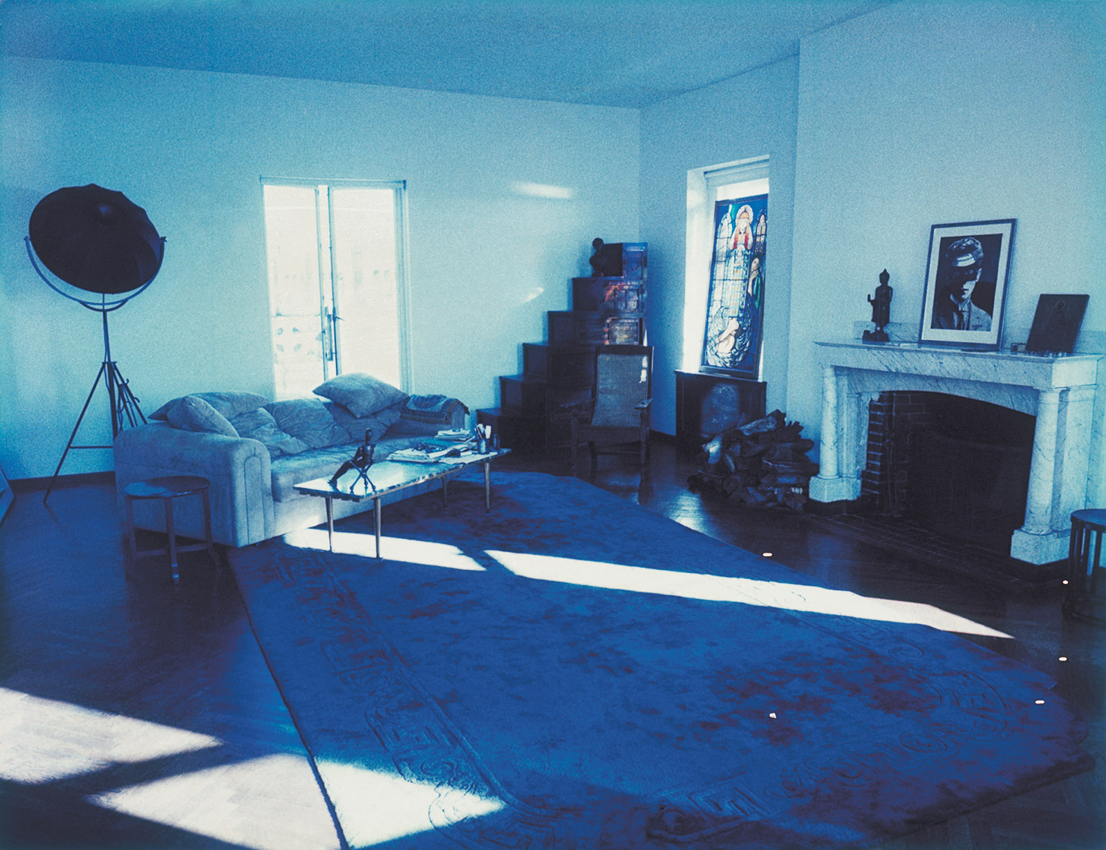 Susan Sontag's living room, Manhattan, 1995