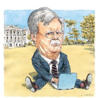 John Bolton; illustration by John Cuneo