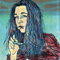 Lorrie Moore; illustration by Hope Gangloff