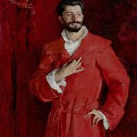 John Singer Sargent: Dr. Pozzi at Home, 1881