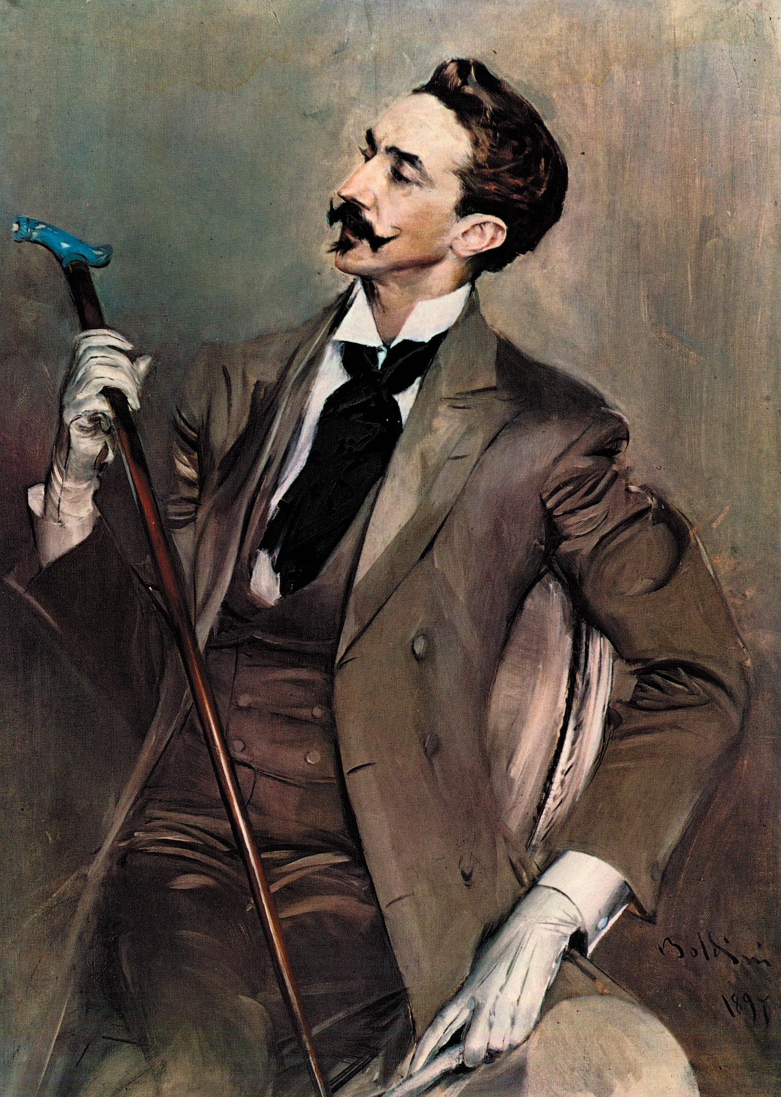 Robert de Montesquiou; portrait by Giovanni Boldini