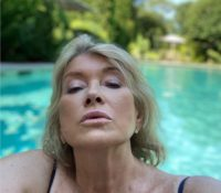 Martha Stewart, East Hampton, Long Island, New York, July 21