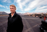 Mike Nichols on the set of Catch-22, Guaymas, Mexico, 1969