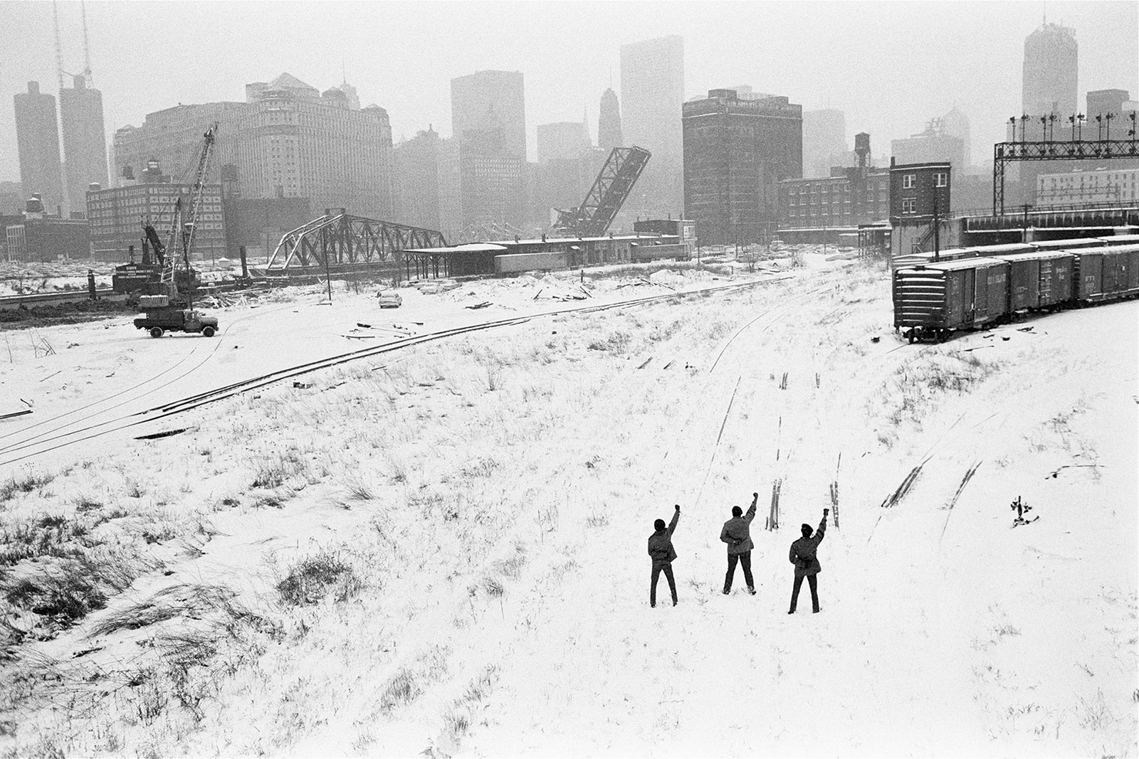 Black Panthers, Chicago, 1969
