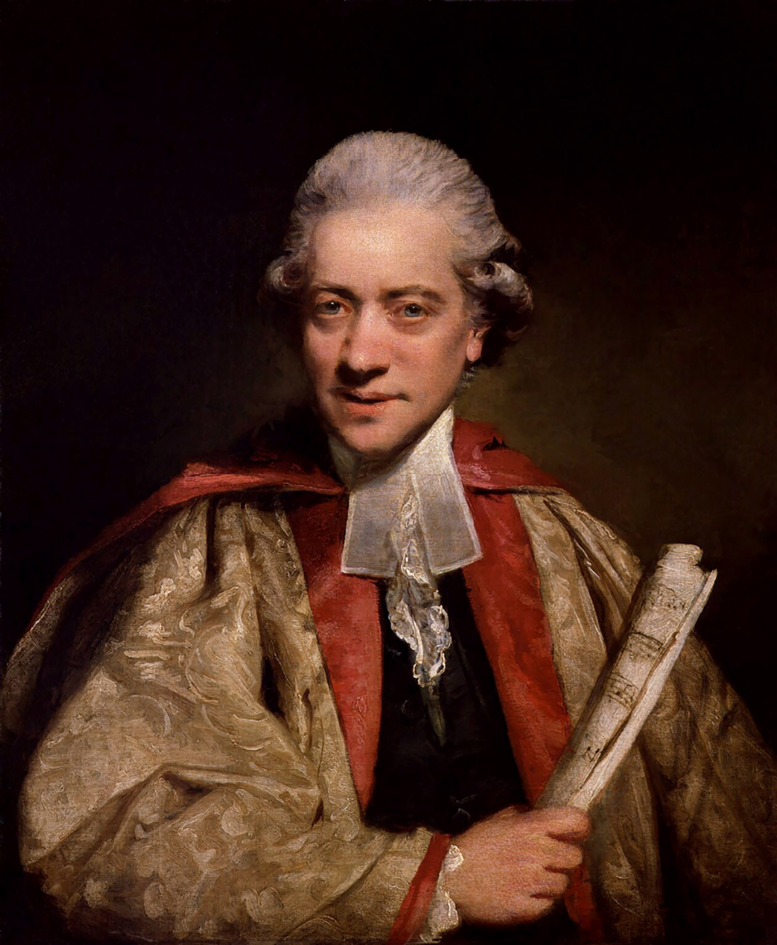 Charles Burney; portrait by Joshua Reynolds, 1781
