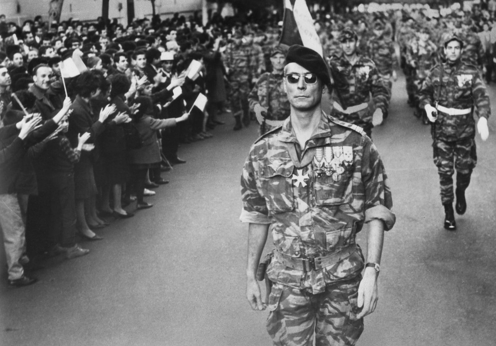 """Colonel Mathieu in """"The Battle Of Algiers"""" Film Still"""