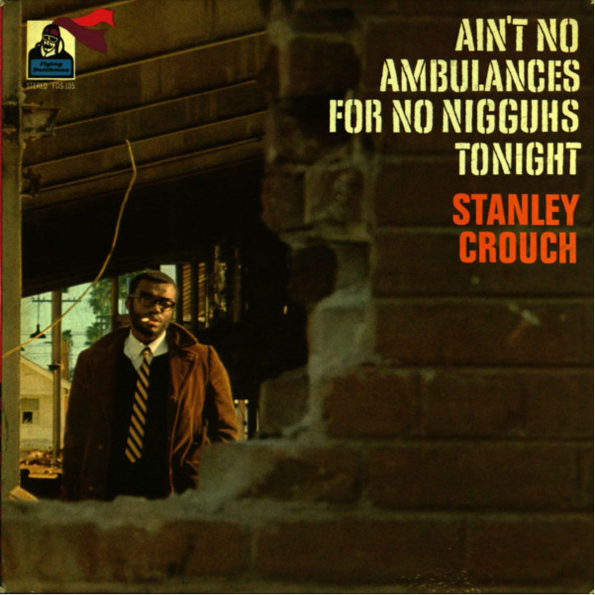 Album cover artwork for Stanley Crouch's 1969 LP