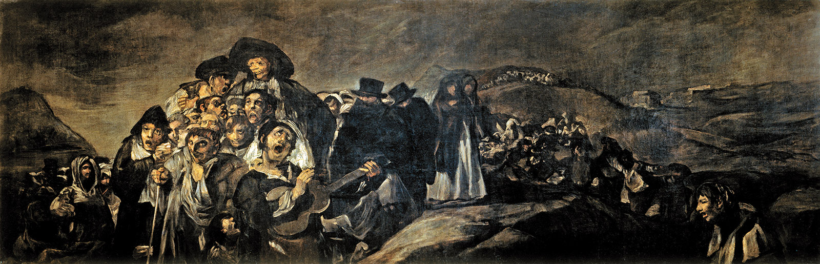 The Pilgrimage to San Isidro; painting by Francisco Goya