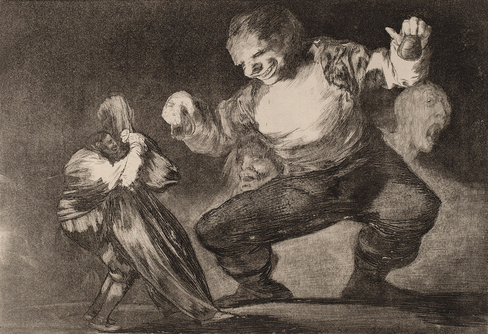 Simpleton; painting by Francisco Goya