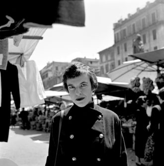 Ingeborg Bachmann, Rome, 1954