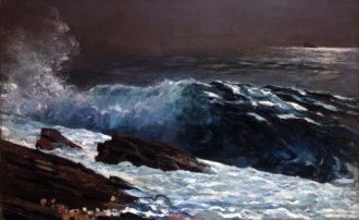 Winslow Homer: Sunlight on the Coast, 1890