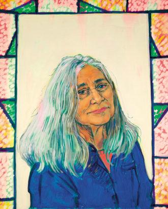 Marilynne Robinson; illustration by Hope Gangloff