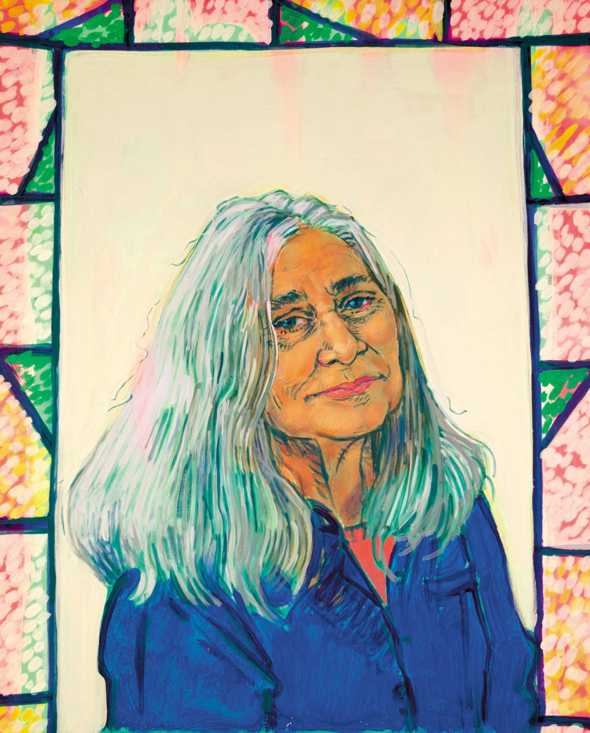 Marilynne Robinson; illustration by Hope Gangloff