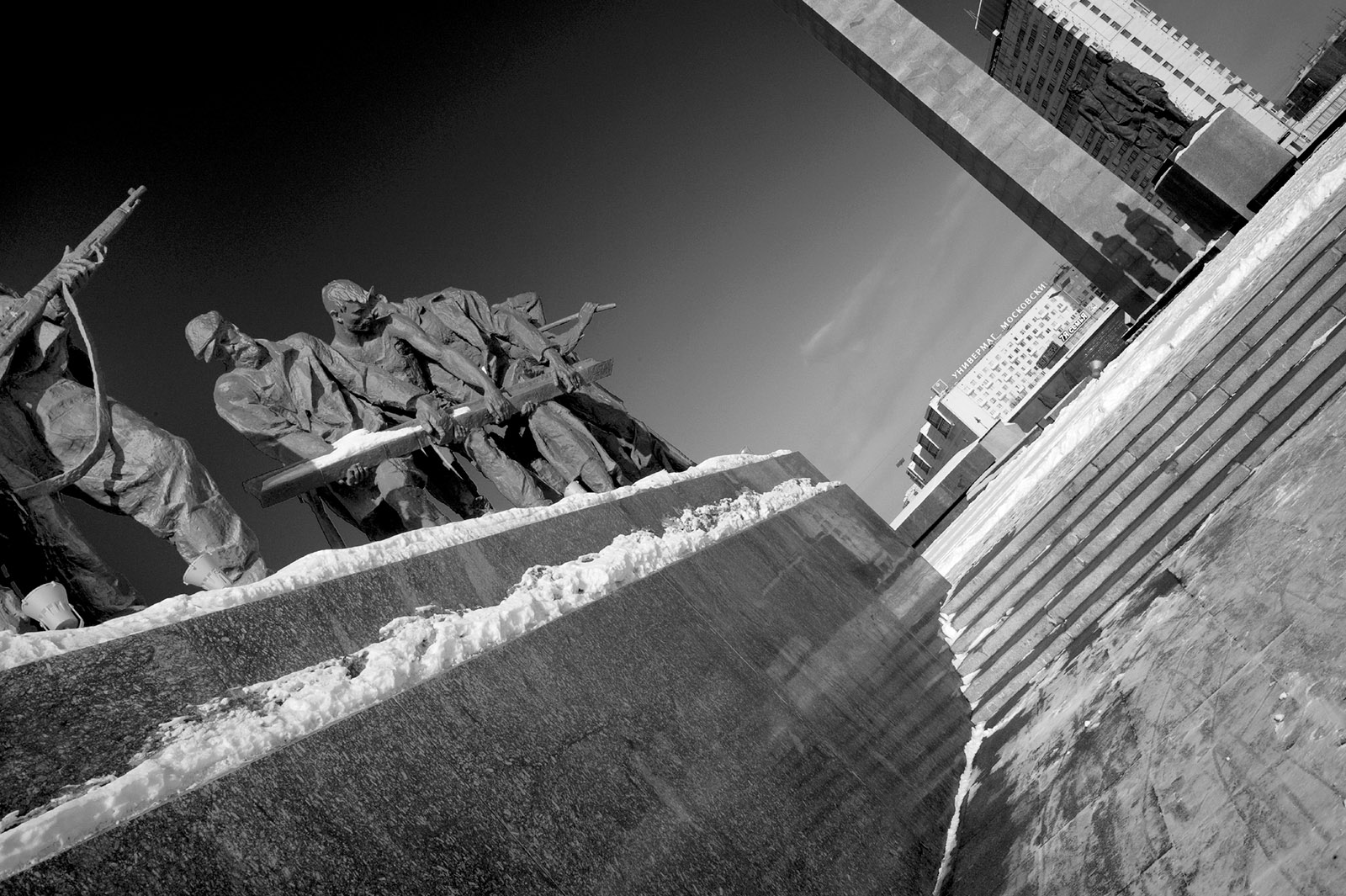 Monument to the Heroic Defenders of Leningrad, St. Petersburg, Russia, 2011