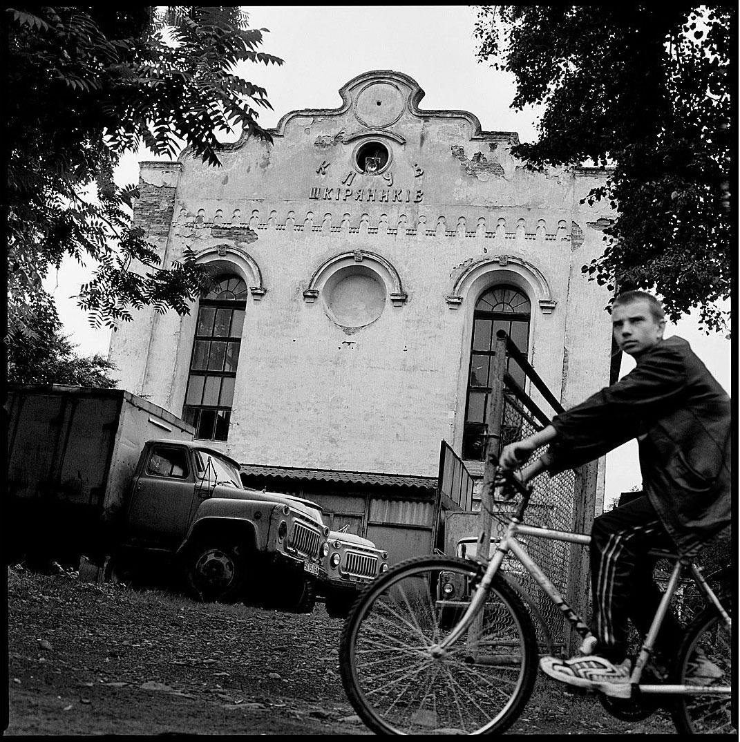 Great Synagogue of Bolechów, Bolekhiv, in present day Ukraine, 2001