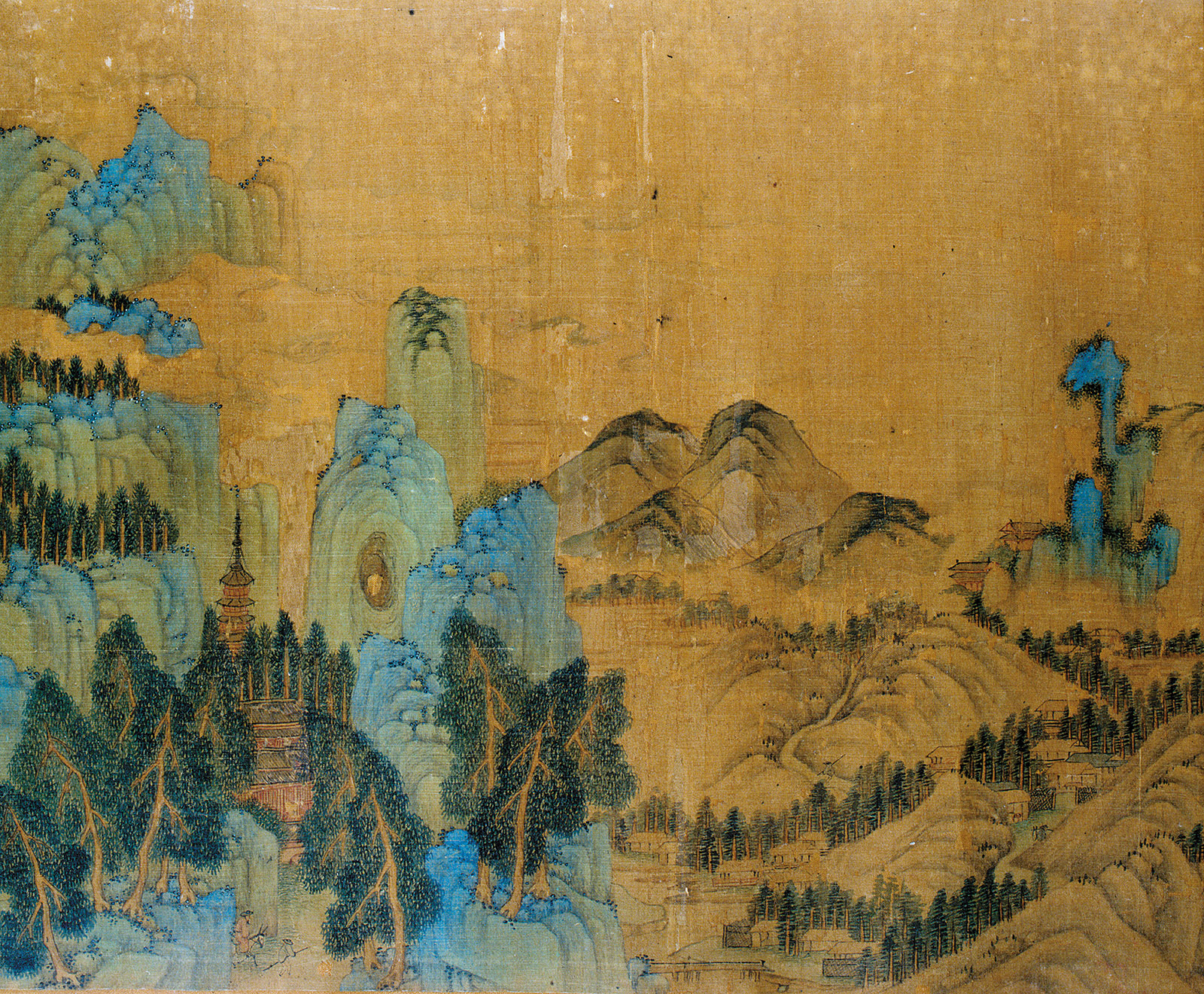 Landscape painting, Tang dynasty era