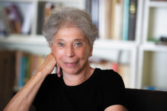 Vivian Gornick, Greenwich Village, September 2020