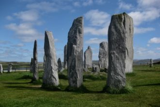 The stones of Callanish, Isle of Lewis, Scotland, 2010