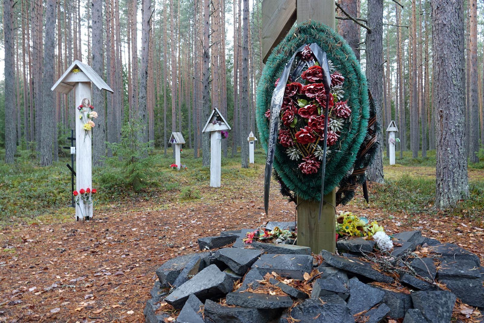 Memorial to Stalin Victims at Krasny Bor