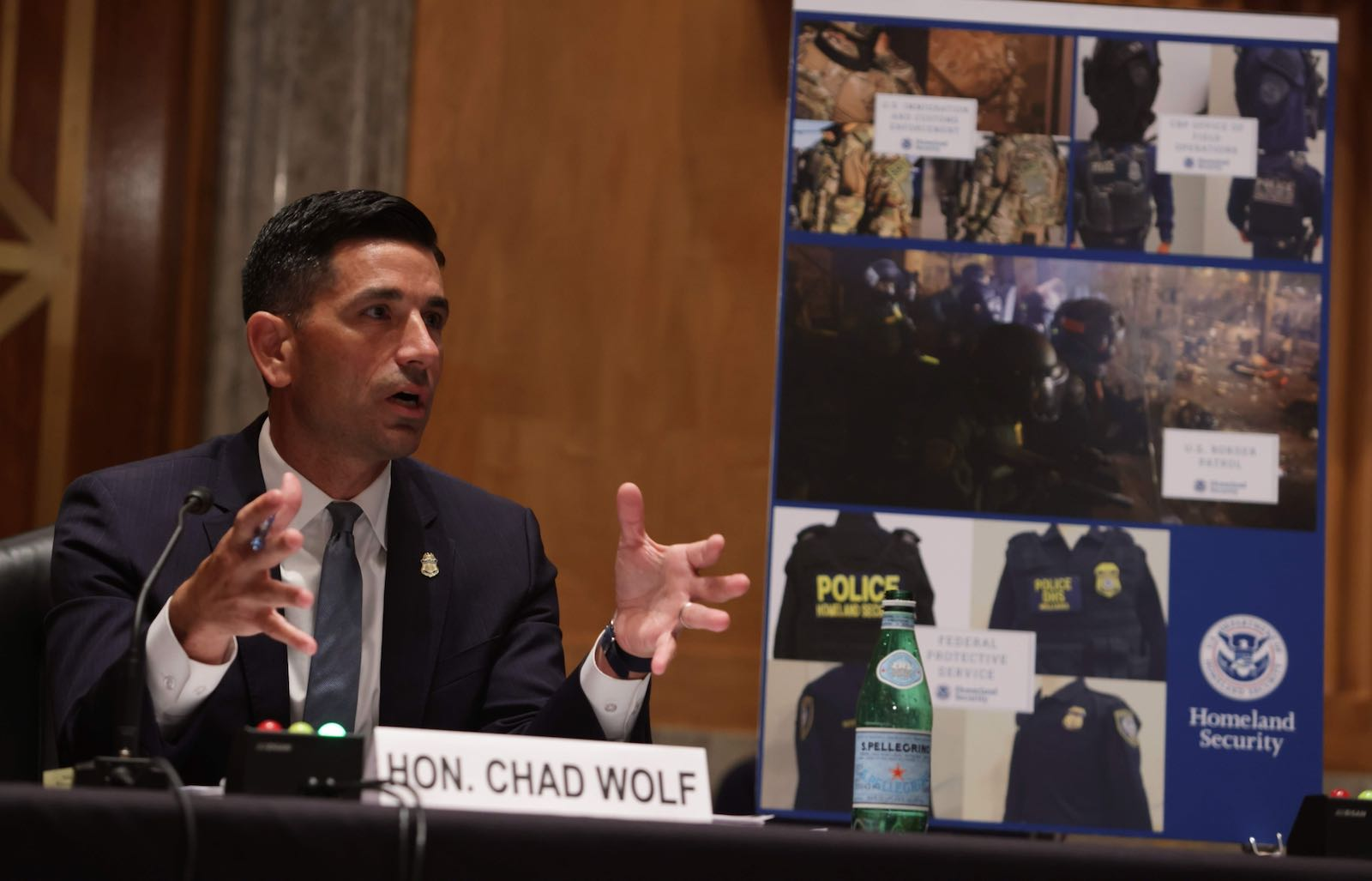 Acting DHS Secretary Chad Wolf