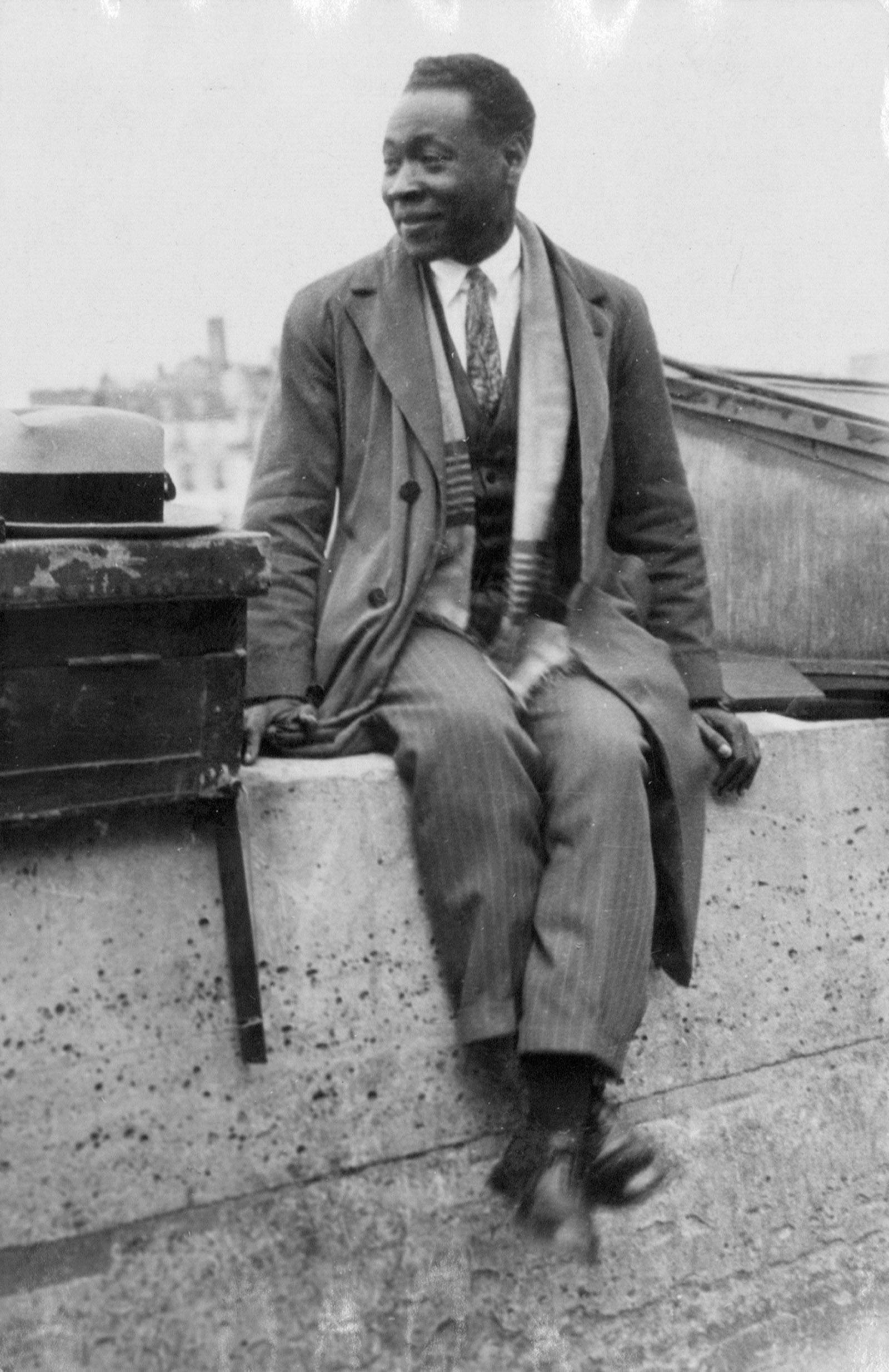 Claude McKay, France, 1928