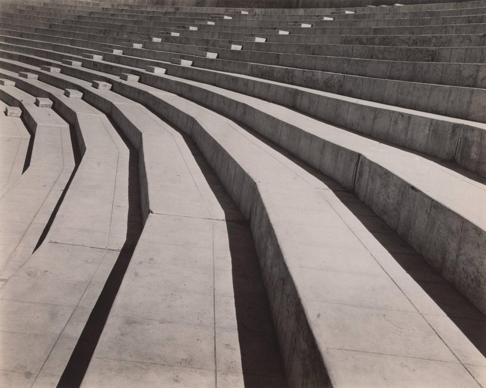 Stadium, Mexico City, 1927; photograph by Tina Modotti