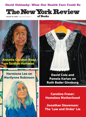 Image of the October 22, 2020 issue cover.