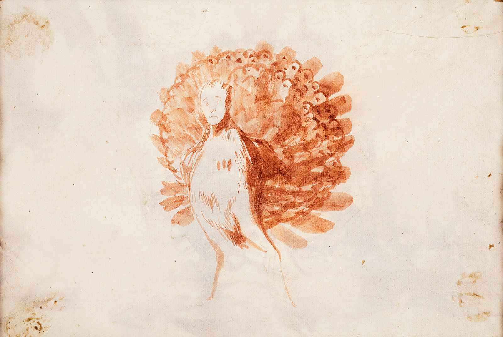 The Vain Peacock; painting by Francisco Goya