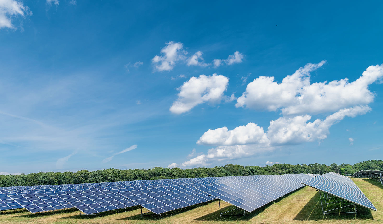 A 20-megawatt solar farm on Long Island