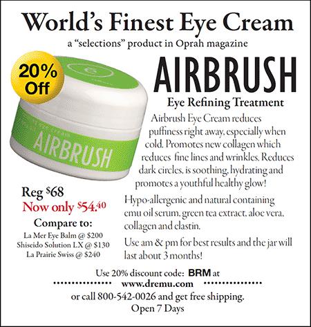 Ad for Airbrush Eye Refining Treatment