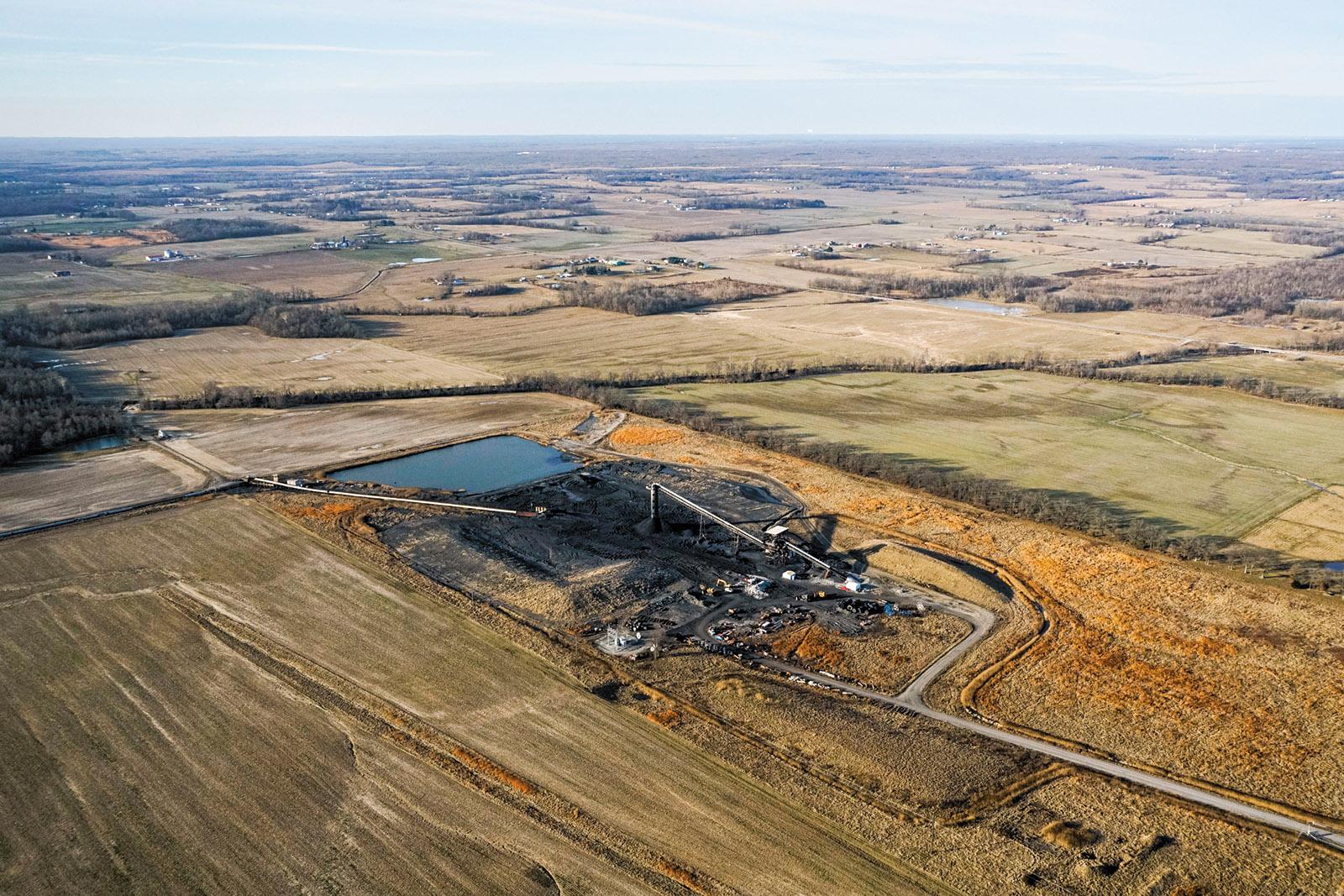 Rocky Branch coal mine, Saline County, Illinois