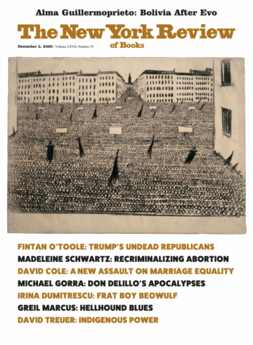 Image of the December 3, 2020 issue cover.