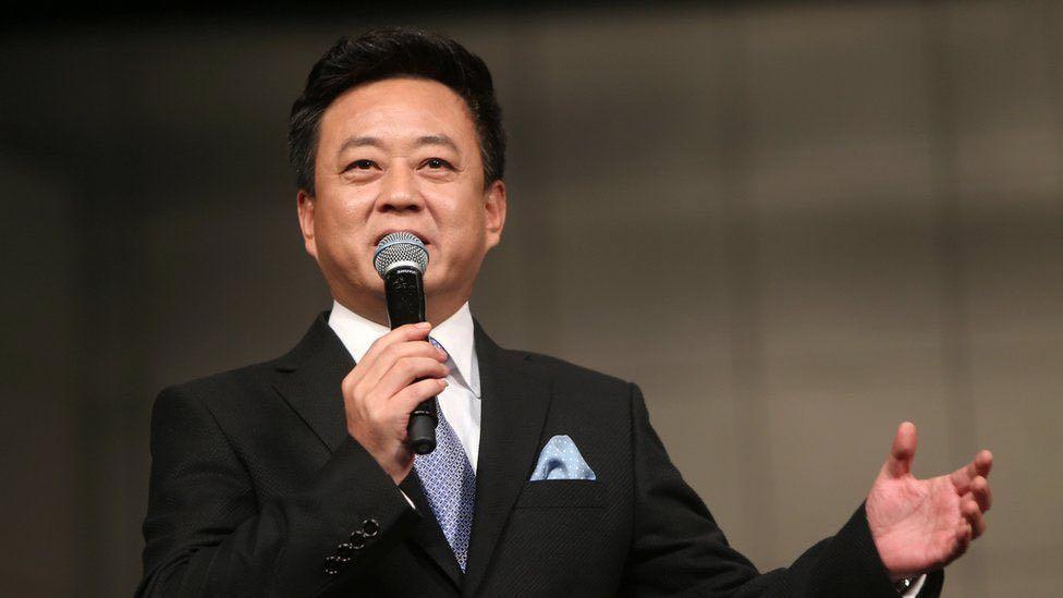 TV personality Zhu Jun