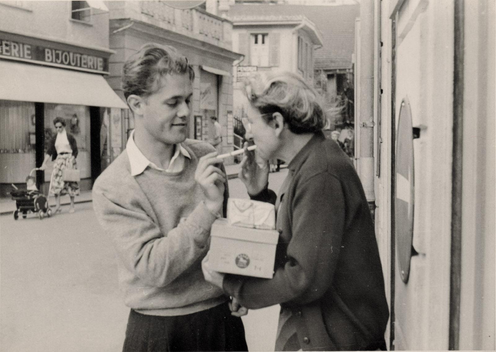 Charles Rosen and Elisabeth Zerner,