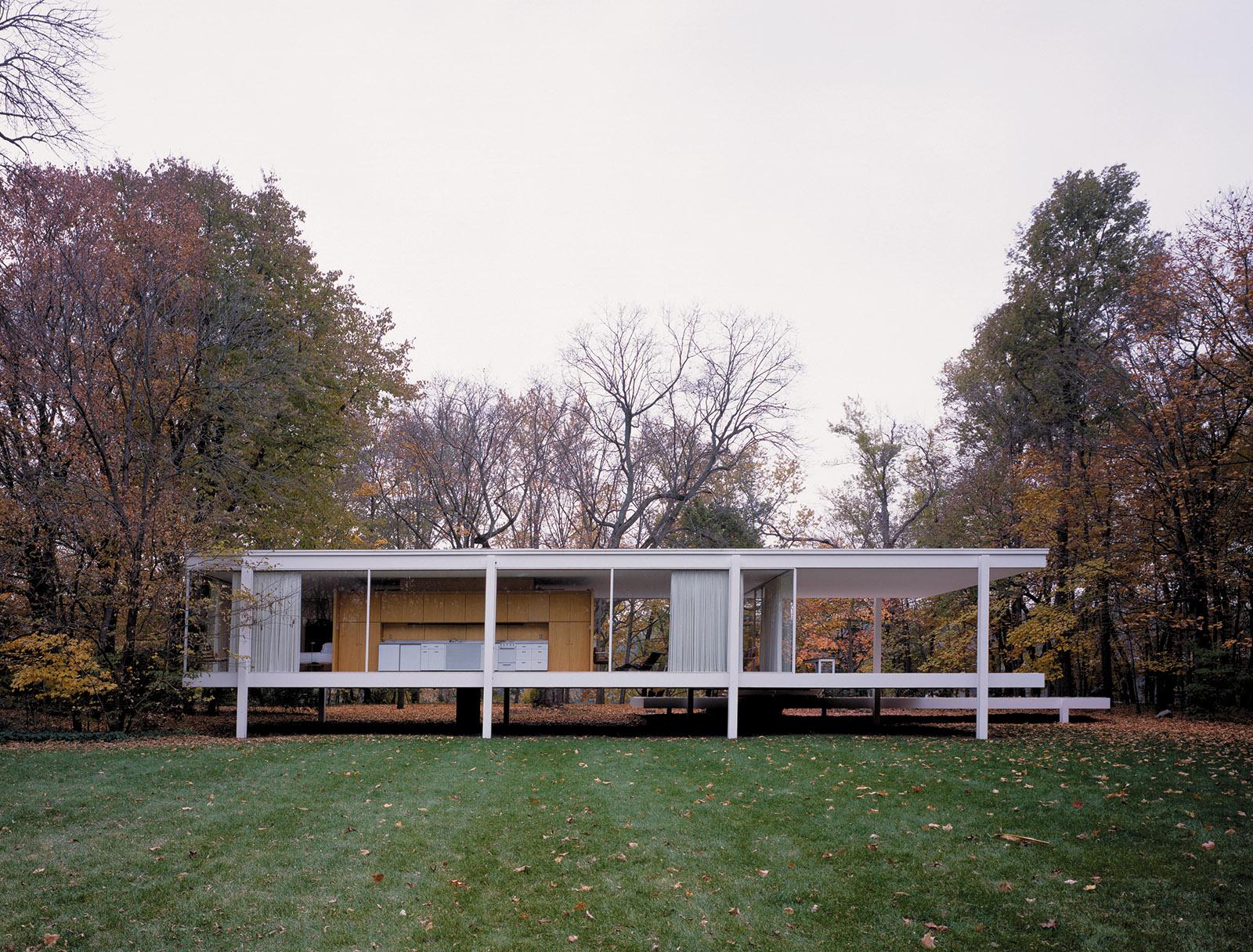 The Farnsworth house