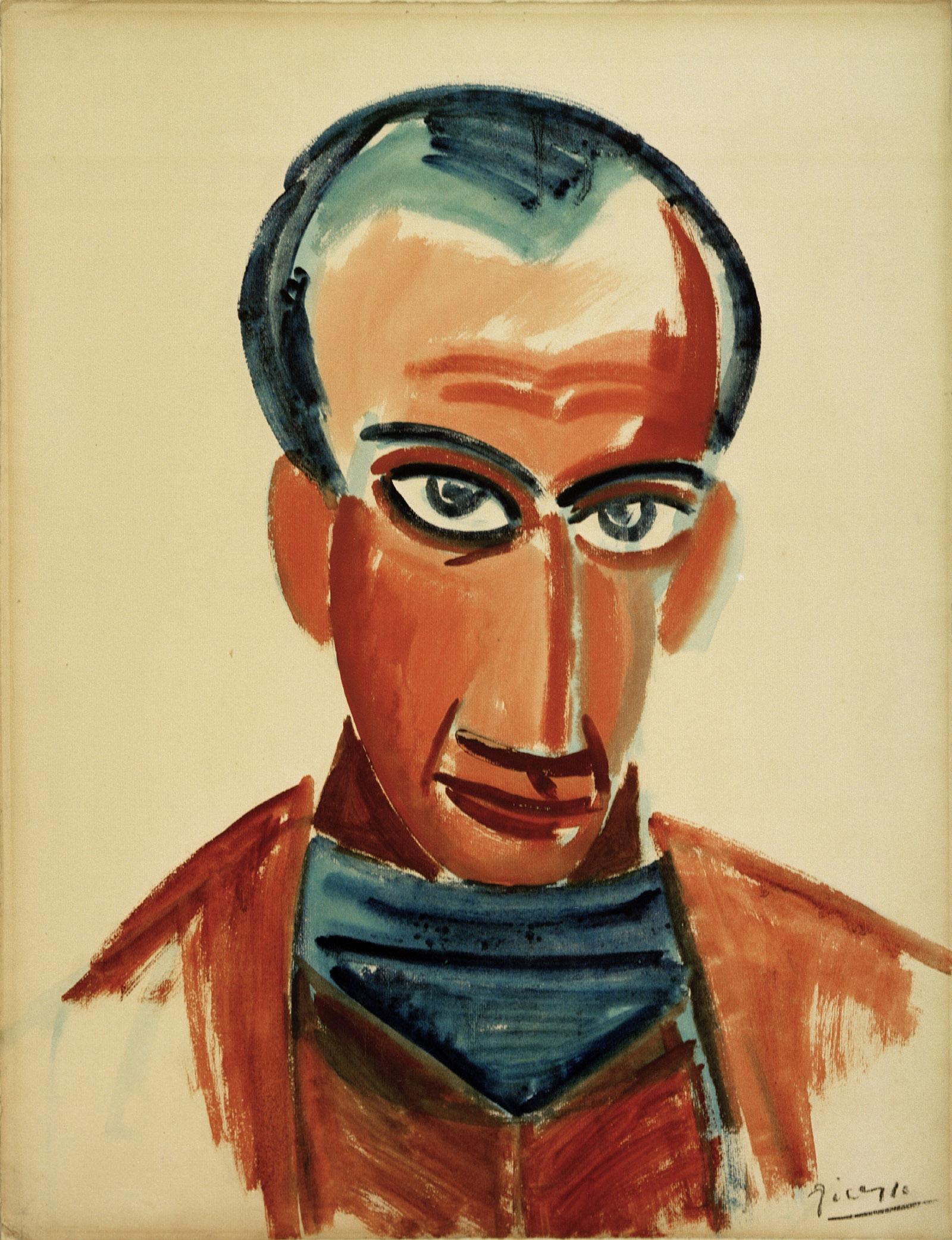 Portrait of Max Jacob, 1907 by Pablo Picasso