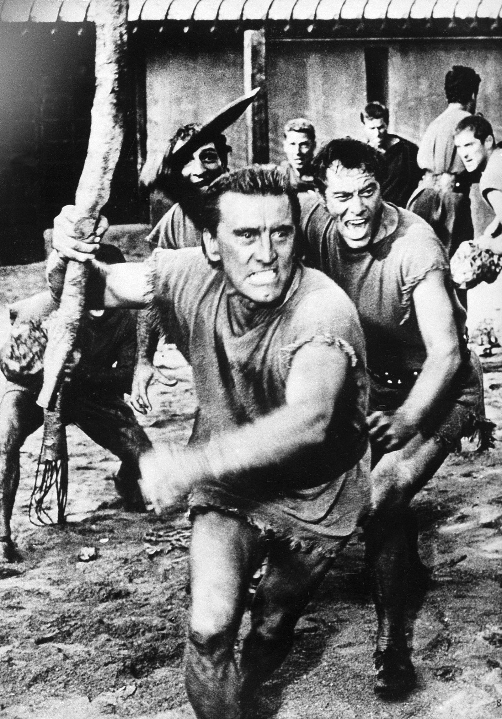 A scene from Spartacus