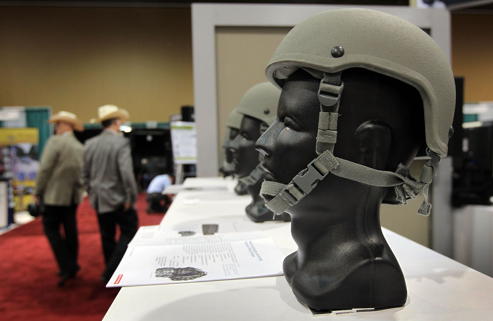 A display at the Border Security Expo