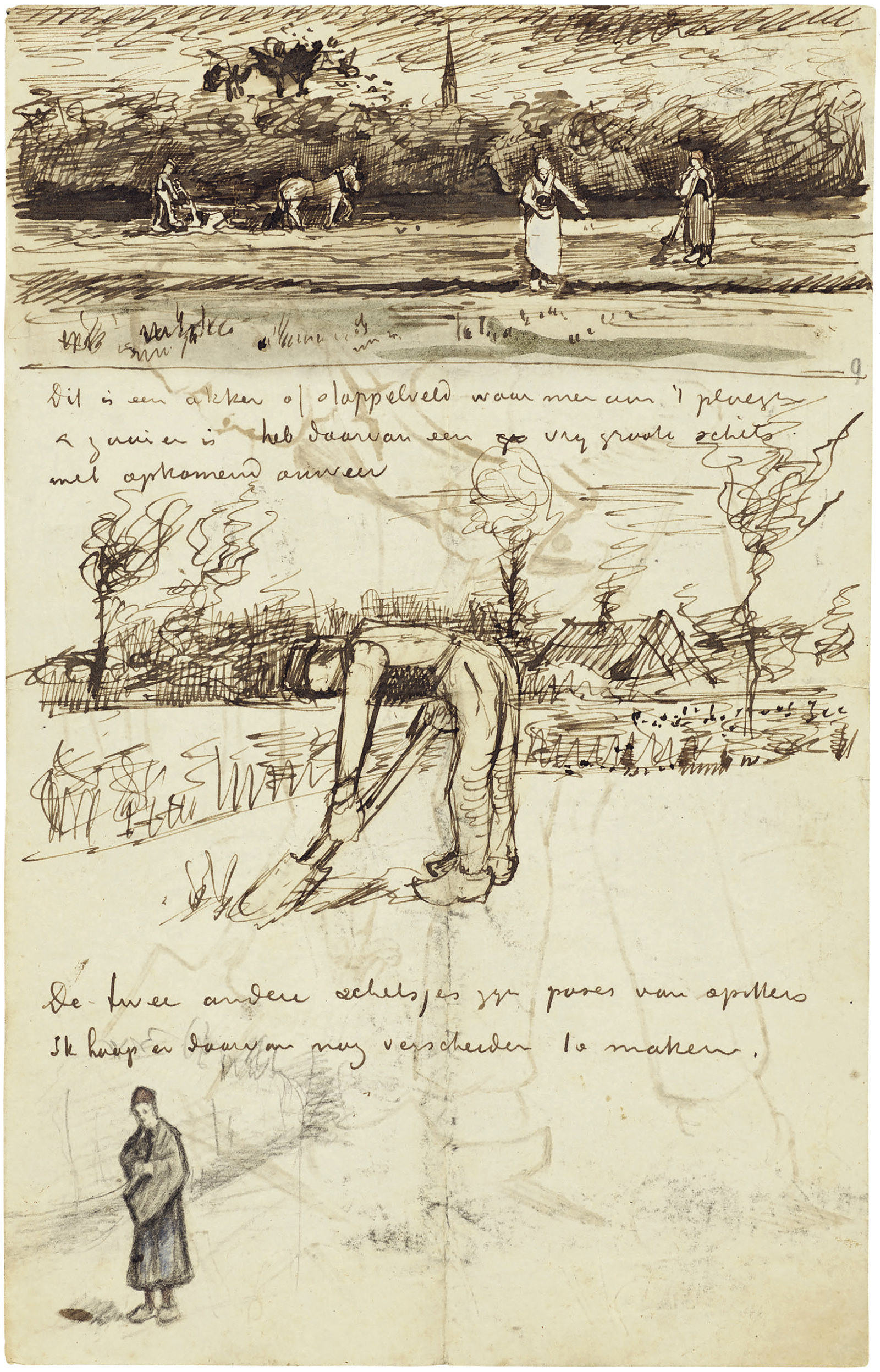 A letter from Vincent van Gogh to Theo van Gogh, September 1881