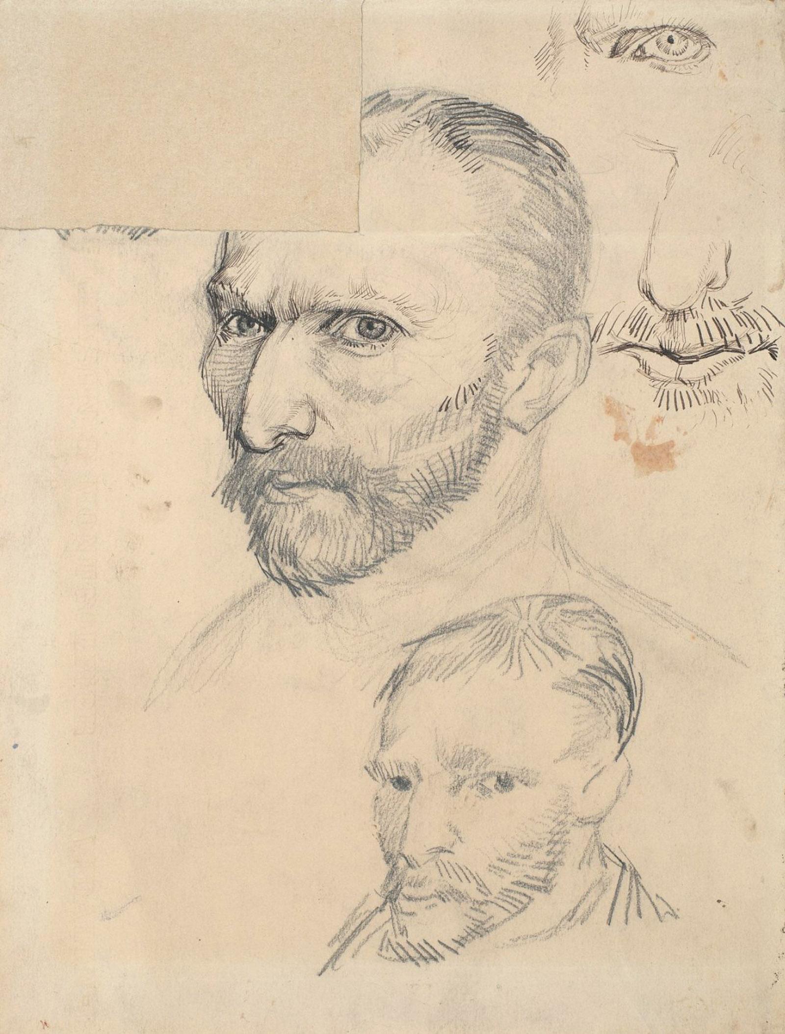 Self-Portraits by Vincent van Gogh