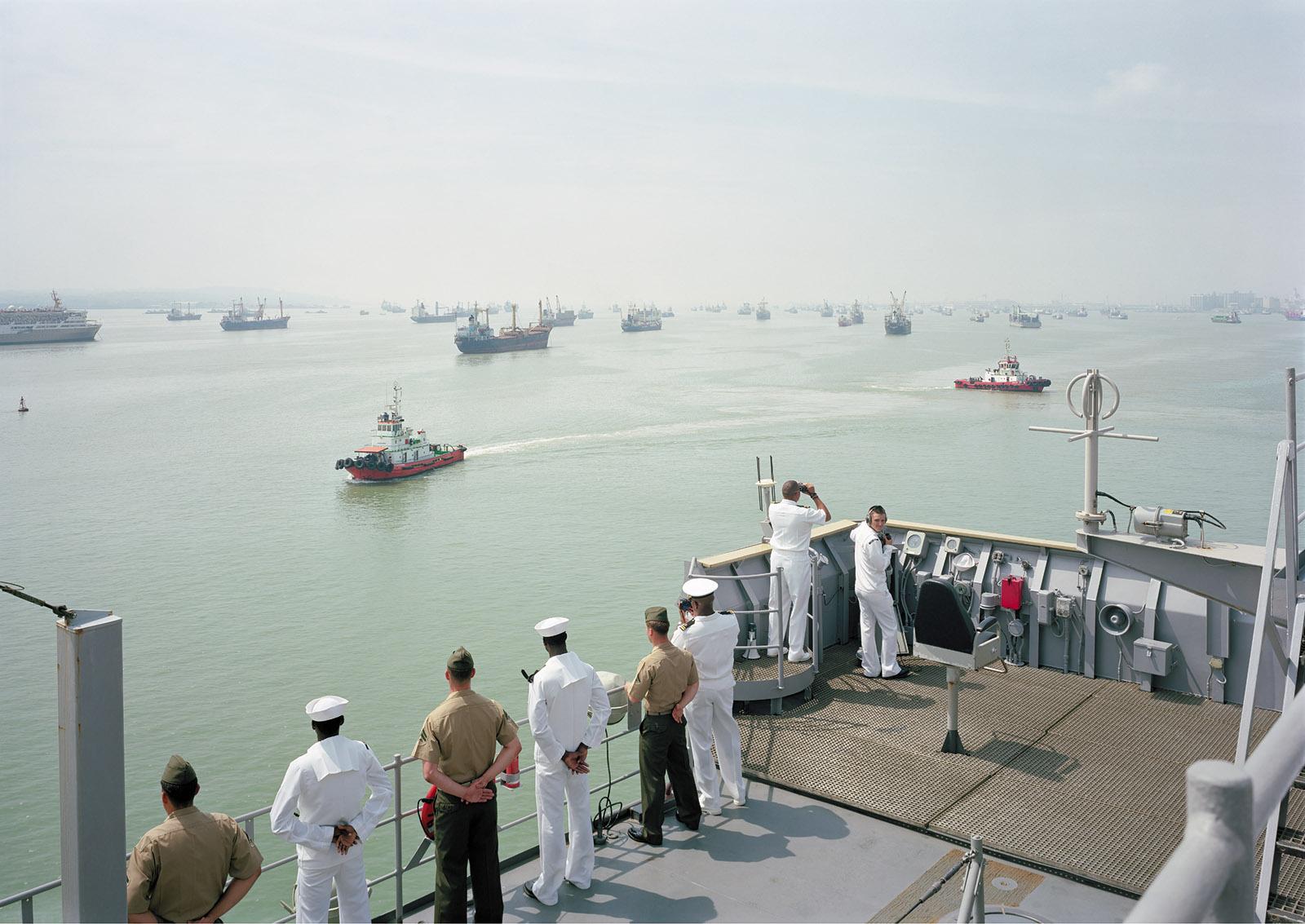USS Tortuga, Java Sea, 2010