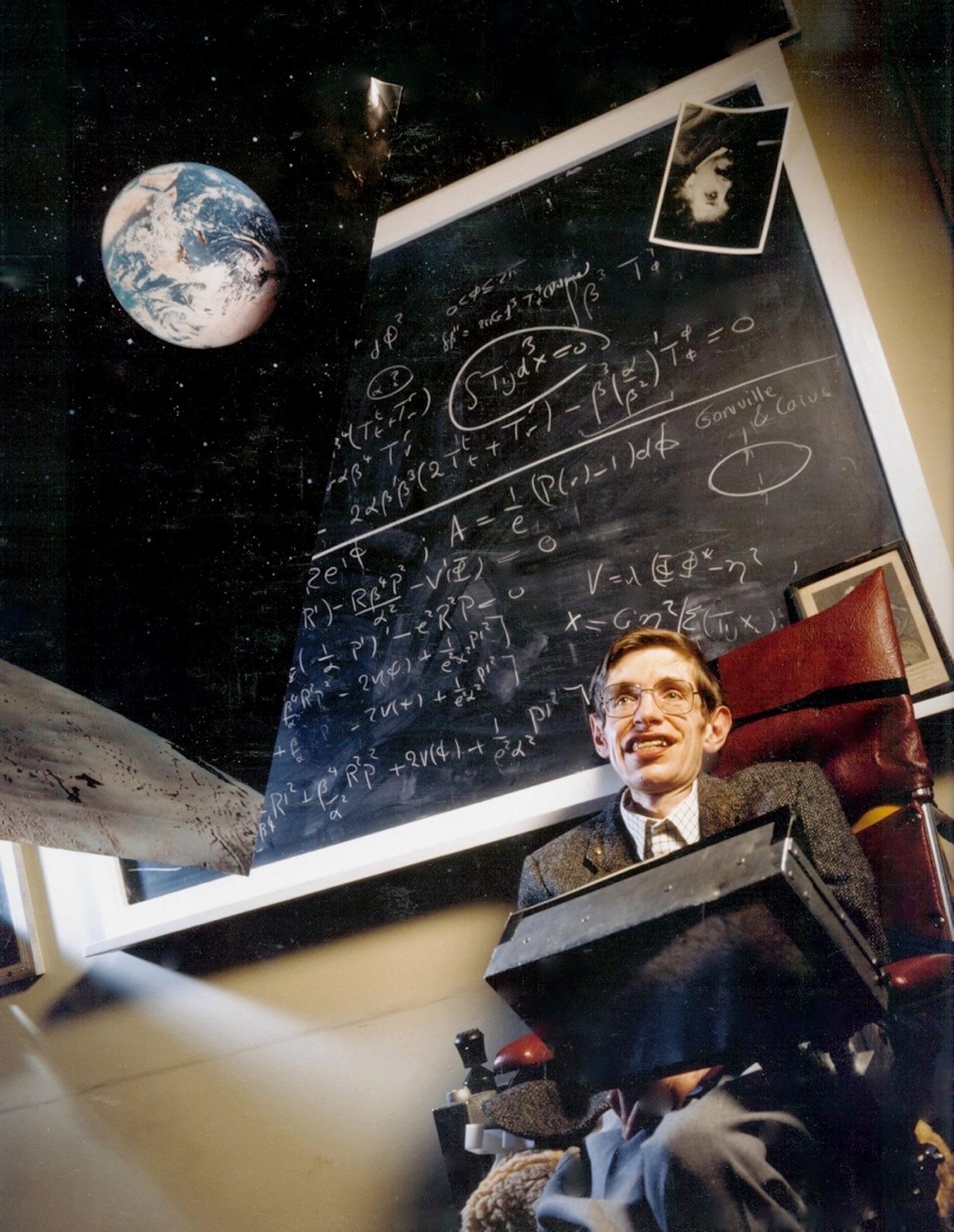Stephen Hawking, Kings College, Cambridge