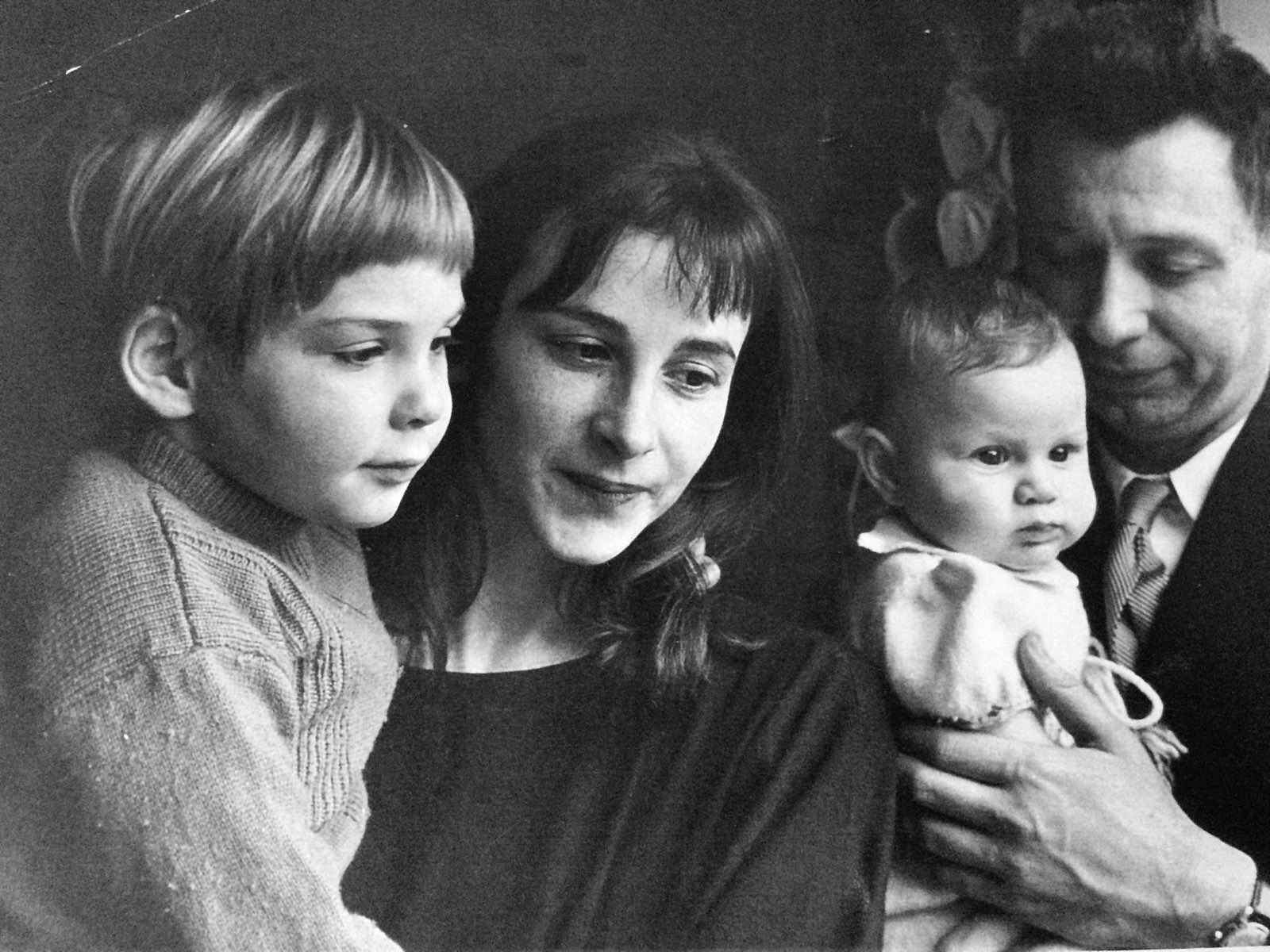 Susan Taubes and her family