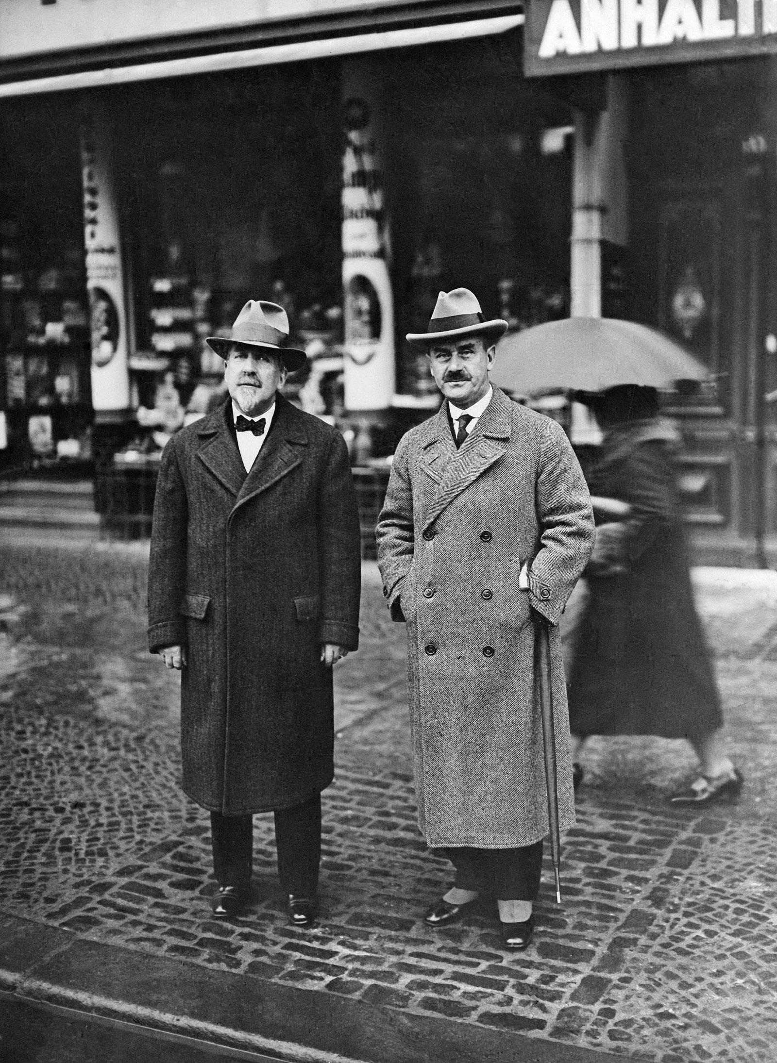 Heinrich and Thomas Mann, Berlin