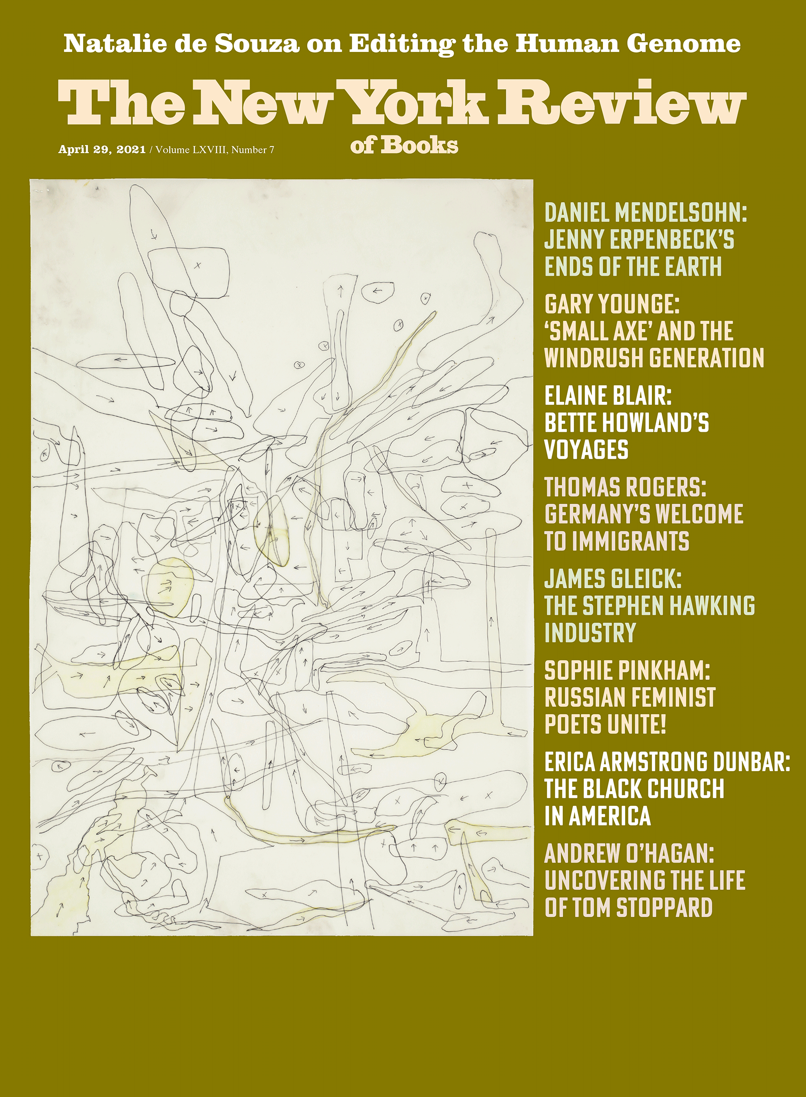 Image of the April 29, 2021 issue cover.