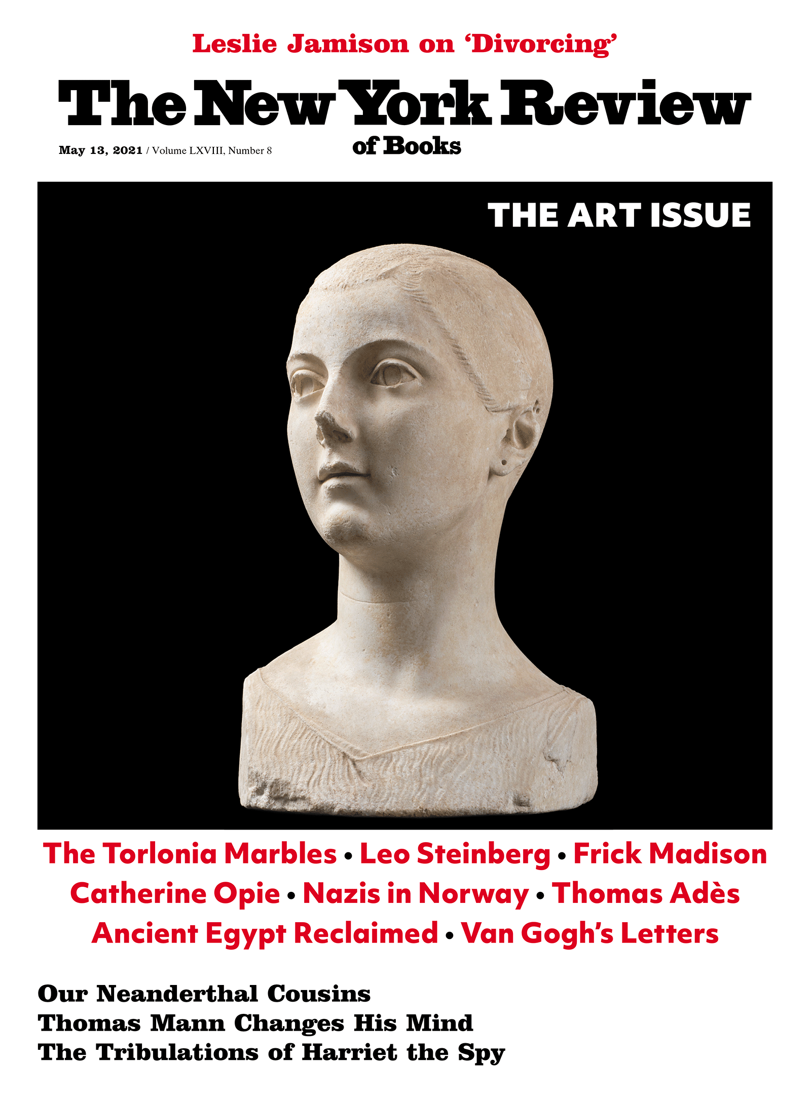 Image of the May 13, 2021 issue cover.