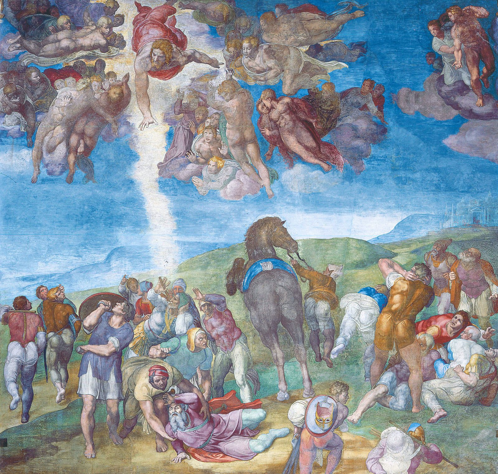 The Conversion of Paul by Michelangelo